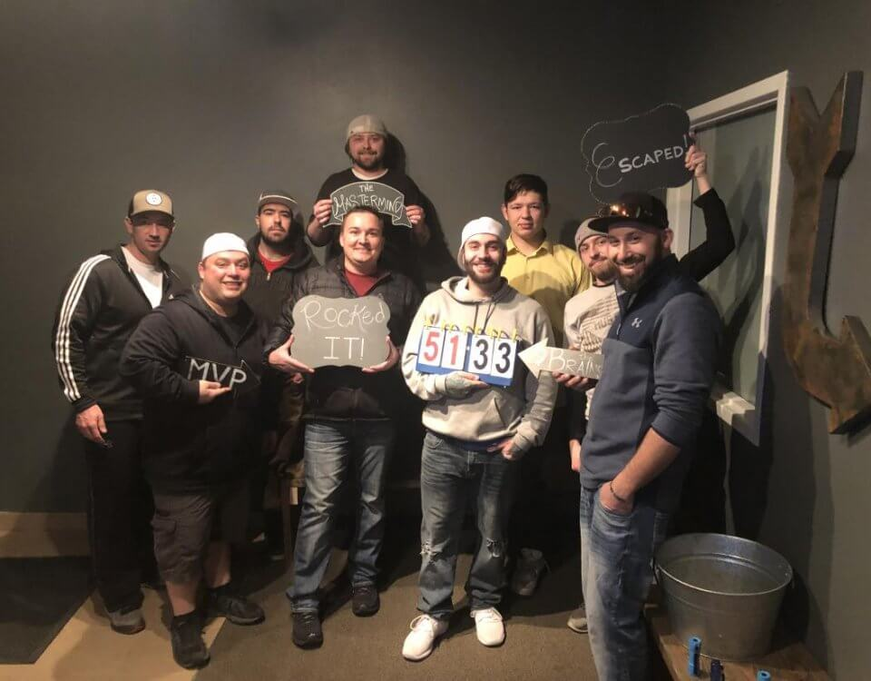 Our Escape Room Outing